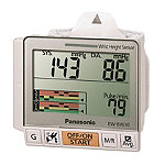 Panasonic Portable Auto Inflate Wrist Blood Pressure Monitor