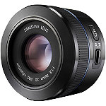 Samsung Black 45mm f1.8 Fixed Focal Length NX Camera Lens 299.99