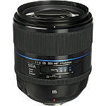 Samsung Black 85mm f1.4 ED SSA Fixed Focal Length NX Camera Lens 999.99