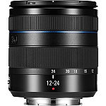 Samsung Black 12-24mm f4-5.6 Compact Ultra Wide Angle Zoom NX Camera Lens 599.99