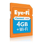 Eye-Fi 4GB Connect X2 Wirelss SD Card 29.95