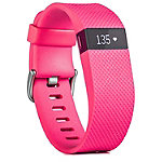 Fitbit Charge HR Large Pink Wireless Heart Rate + Activity Wristband