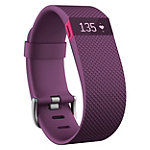 Fitbit Charge HR Small Plum Wireless Heart Rate + Activity Wristband