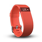 Fitbit Charge HR Small Tangerine Wireless Heart Rate + Activity Wristband