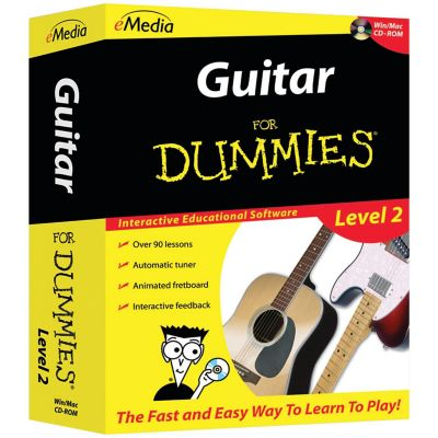 Emedia Guitar For Dummies Level 2 CD-ROM