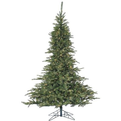 Fraser Hill Farm 7.5 Ft. Cluster Pine Artificial Christmas Tree with Smart String Lighting