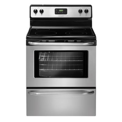 "Frigidaire 30"" Stainless Steel Smoothtop Electric Range"