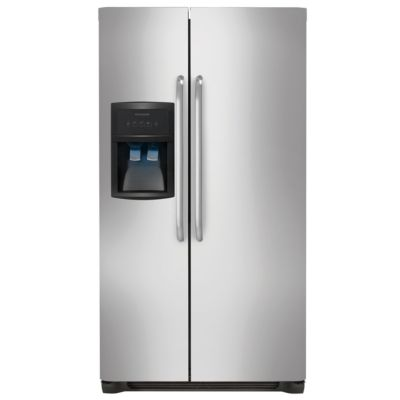 Frigidaire 22.6 Cu. Ft. Stainless Steel Side-by-Side Refrigerator