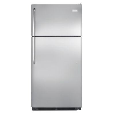 Frigidaire 18.3 Cu. Ft. Stainless Steel Top-Freezer Refrigerator