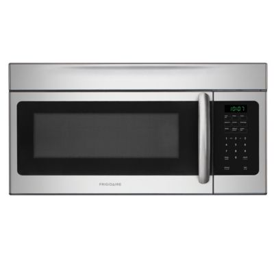 Frigidaire 1.6 Cu. Ft. 1,000-Watt Stainless Steel Over-the-Range Microwave