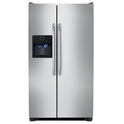 Special Buy! Frigidaire 26 Cu. Ft. Stainless Steel Side-by-Side Refrigerator