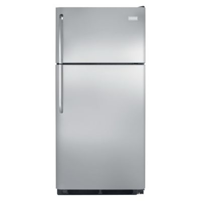 Frigidaire 18 Cu. Ft. Stainless Steel Top-Freezer Refrigerator