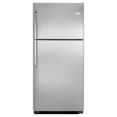 Frigidaire 20 Cu. Ft. Stainless Steel Top-Freezer Refrigerator