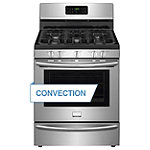 Frigidaire 30' Stainless Steel Convection Gas Range 649.99