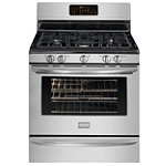 Frigidaire 30' Stainless Steel Convection Gas Range No price available.