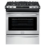 Frigidaire 30' Stainless Steel Convection Slide-in Gas Range