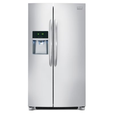 Frigidaire 23 Cu. Ft. Stainless Steel Counter-Depth Side-by-Side Refrigerator