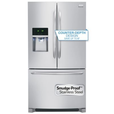 Frigidaire 23 Cu. Ft. Stainless Steel Counter-Depth French Door Refrigerator