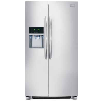 Frigidaire 23 Cu. Ft. Stainless Steel Side-by-Side Refrigerator
