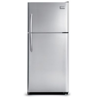 Frigidaire 21 Cu. Ft. Stainless Steel Top-Freezer Refrigerator