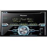 Pioneer 2-DIN CD Receiver with MIXTRAX, USB Playback, Pandora, Android Music Support, and Color Customization