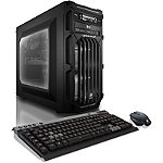 CybertronPC Flux Gaming PC with Liquid-Cooled Intel Core i7-5820K, Dual AMD Radeon R9 380 4GB HBM GC, 16GB DDR4 Memory