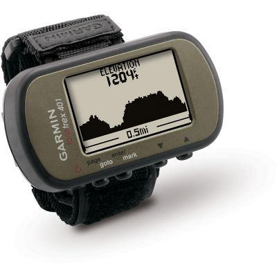 Garmin Foretrex 401 Waterproof Hands-Free GPS with Electronic Compass