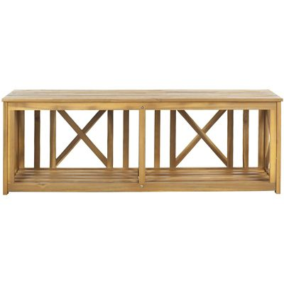 Safavieh Natural Brown Branco Bench