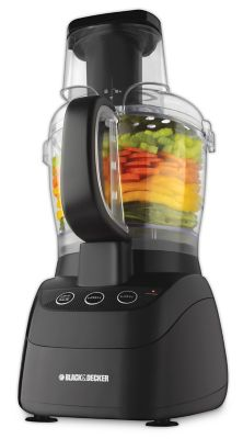 Black & Decker Black PowerPro Wide-Mouth Food Processor