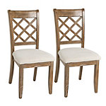Steve Silver Callie Dining Chair Set of 2