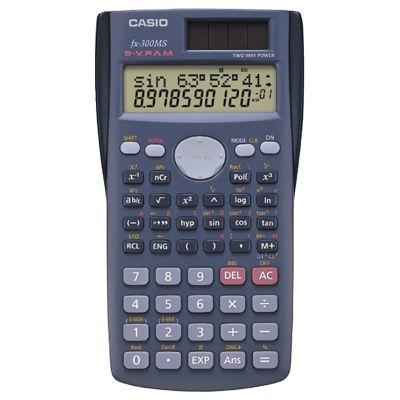 Casio Scientific Calculator with 240 Built-in Functions
