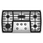 Whirlpool 36' Stainless Steel Gas Cooktop 1249.99