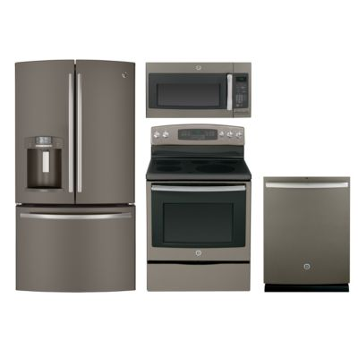 GE 4-Piece Slate Kitchen Package ($500 Rebate)