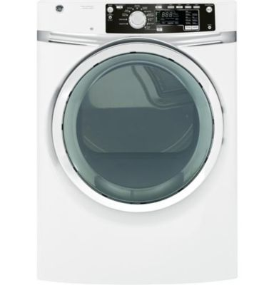 GE 8.1 Cu. Ft. Steam Front-Load Electric Dryer