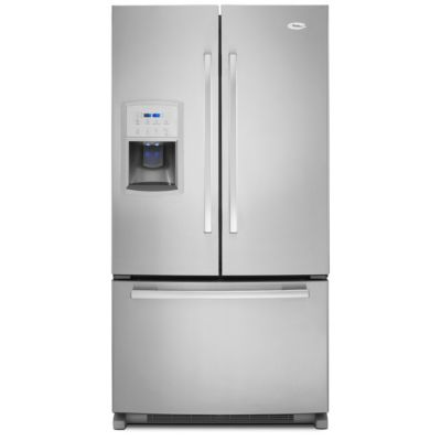 Whirlpool 20 Cu. Ft. Counter-Depth Stainless Steel French Door Refrigerator