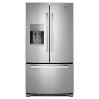 Whirlpool 26 Cu. Ft. Stainless Steel French Door Refrigerator