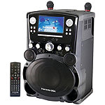 Karaoke USA Professional DVD/CD+G Karaoke System with 7' Color Display