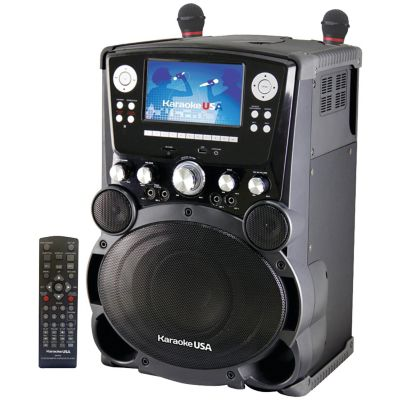 Karaoke USA Professional DVD/CD+G Karaoke System with 7