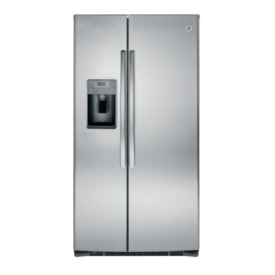 GE 25.4 Cu. Ft. Stainless Steel Side-by-Side Refrigerator