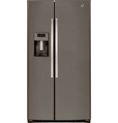 GE 25.9 Cu. Ft. Slate Side-by-Side Refrigerator