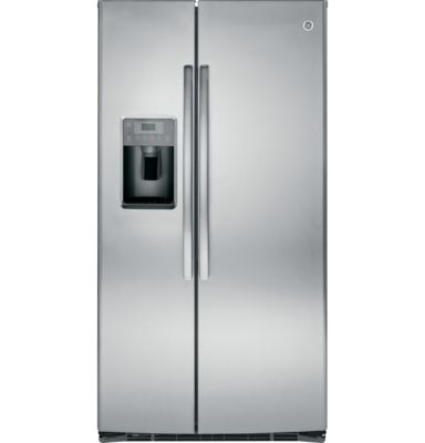 GE 25.9 Cu. Ft. Stainless Steel Side-by-Side Refrigerator
