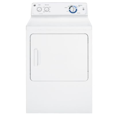 GE 6.0 Cu. Ft. Flat-Back Electric Dryer