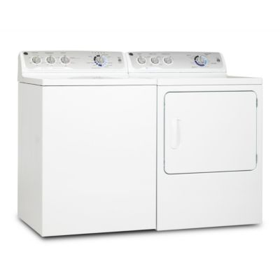 GE 3.9 Cu. Ft. HE Top-Load Washer and 7.0 Cu. Ft. Electric Dryer