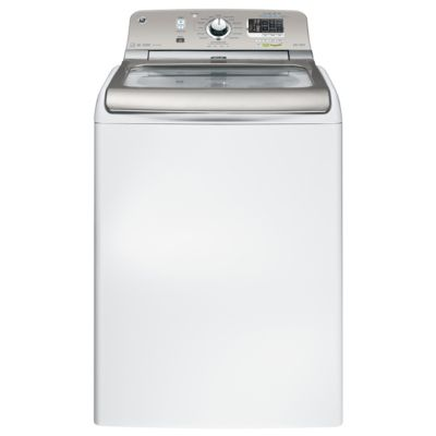 GE 5 Cu. Ft. High-Efficiency Steam Top-Load Washer