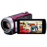 JVC Red HD Flash Memory Camcorder 129.99