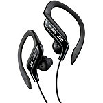 JVC Black Sports Ear Clip Headphones 12.99