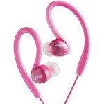 JVC Pink Sports Ear Clip Headphones 9.95