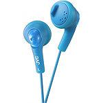 JVC Blue Gumy Earbud Headphones 4.95