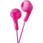 JVC Pink Gumy Earbud Headphones 4.95