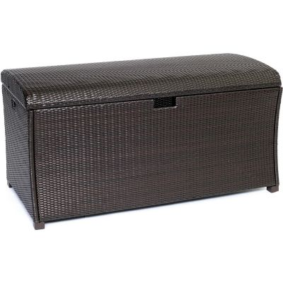 Hanover Outdoor Large Resin Deck Storage Box